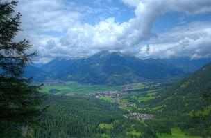 Бесплатные фото Austrian Alps,Ehrwald,Austria,Австрийские Альпы,Эрвальд,Австрия,горы
