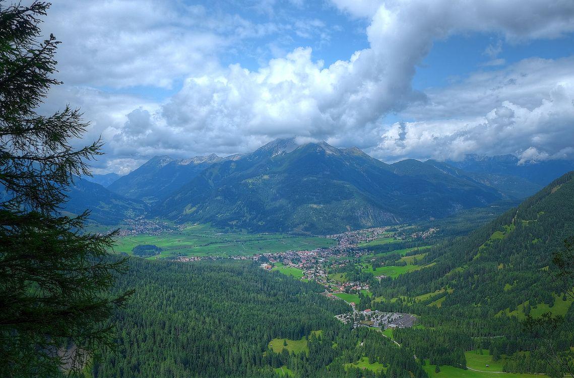 Фото бесплатно Austrian Alps, Ehrwald, Austria - на рабочий стол