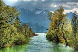 Photo free autumn, landscape, mountains