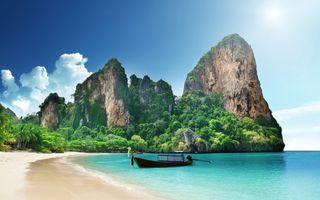 Фото бесплатно пляжи, лодки, острова