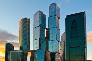 Фото бесплатно Москва, небоскребы, здания