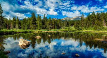 Бесплатные фото колорадо,америка,туризм,панорама,пруд,озеро,размышления