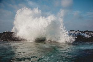 Заставки океан, волна, вода, капли