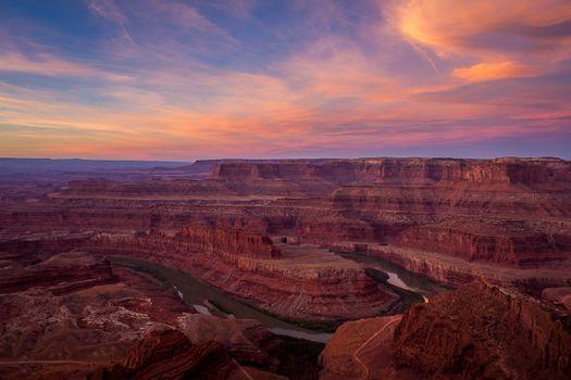 Большой каньон с высоты · бесплатное фото