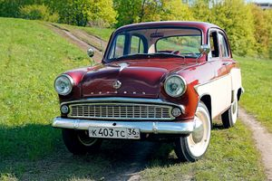 Фото бесплатно Москвич- 407, автомобиль, ретро