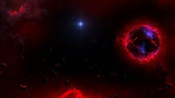 Фото бесплатно астрономия, космос, луна