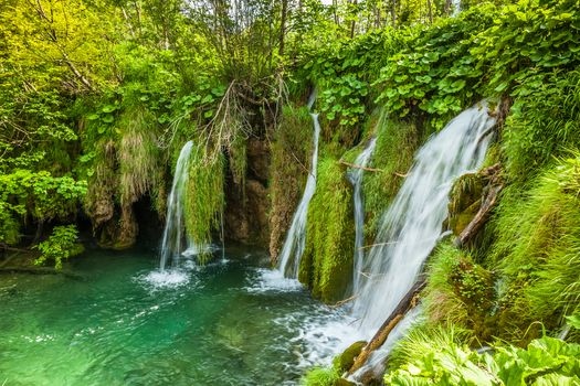 Photos online for free waterfall, national park plitvice lakes