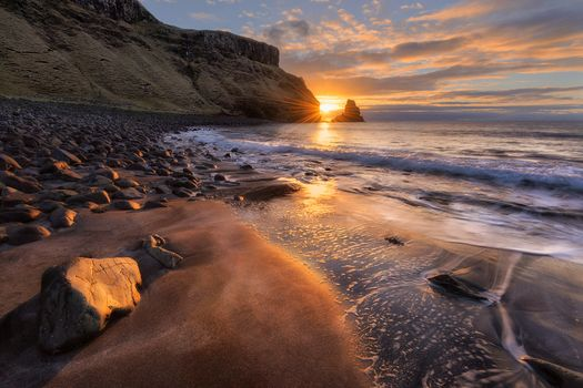 Фото бесплатно Шотландия, залив Талискер, остров Скай