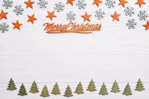 Фото бесплатно звездочки, елки, декор, праздник