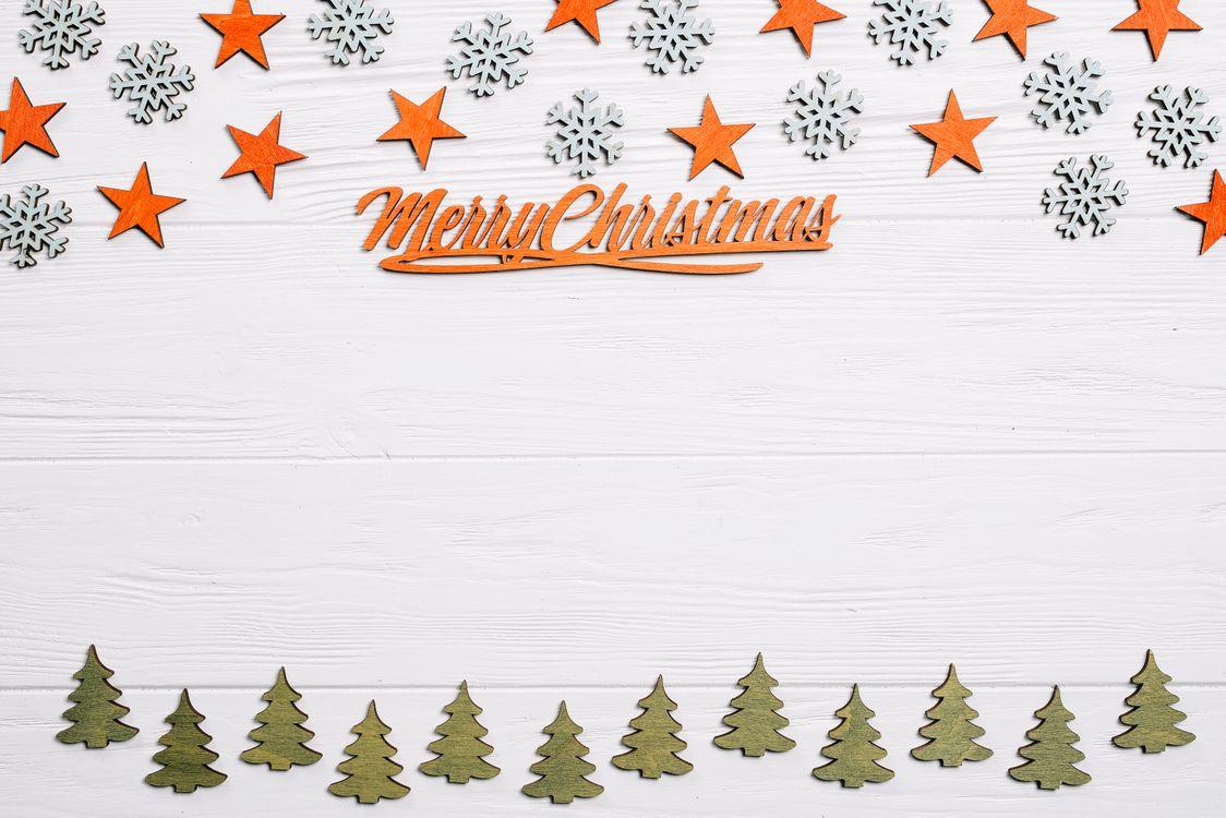 Фото бесплатно звездочки, елки, декор - на рабочий стол