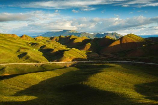 Бархатные холмы · бесплатное фото