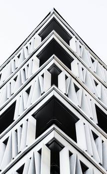 Заставки черное и белое, архитектура, состав