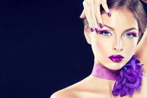 Фото бесплатно макияж, стиль, лук на шею