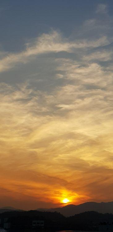 Фото красный рассвет солнечный луч - бесплатные картинки на Fonwall