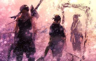 Фото бесплатно нарут, японский, оружие