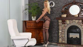 Бесплатные фото Дженни Энн,блондинка,длинные волосы,сетка,нижнее белье,улыбка,длинные ноги