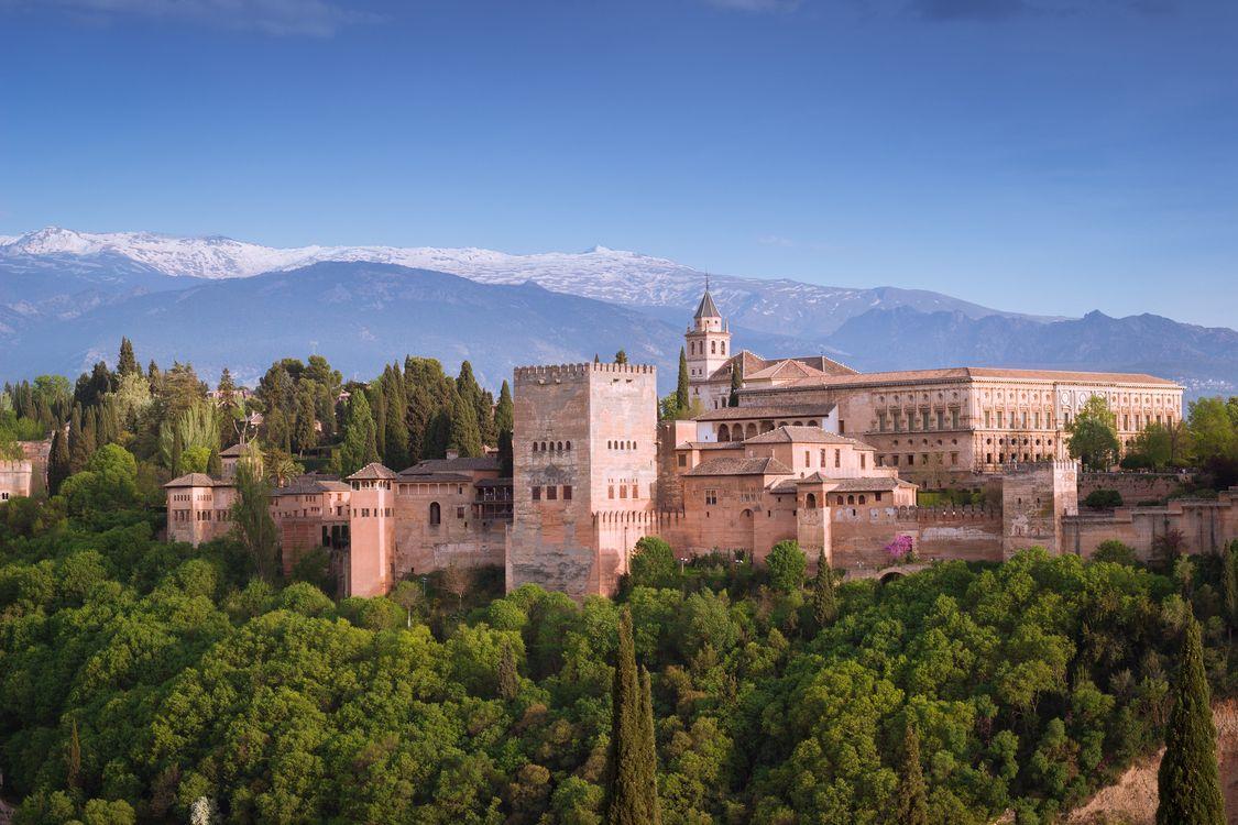 Фото бесплатно Alhambra, Гранада, Испания, город