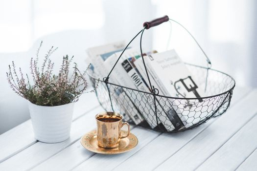 Photo free table, book, reading