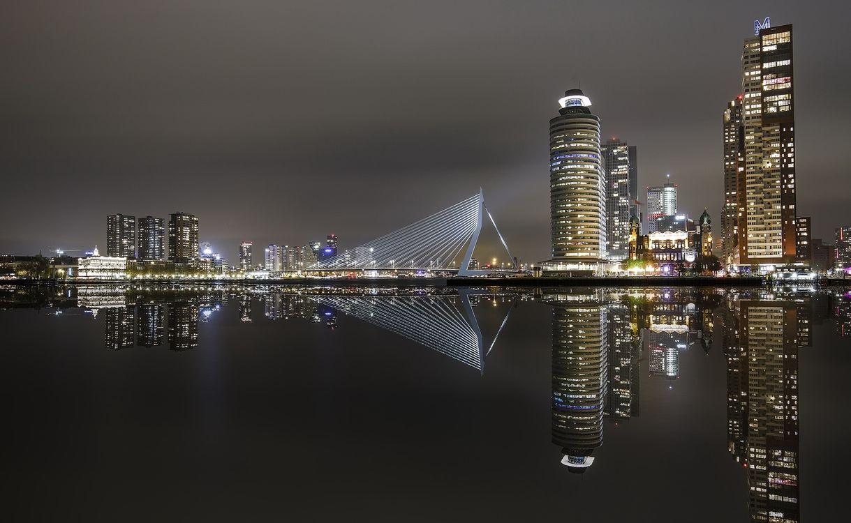 Фото бесплатно Нидерланды, Роттердам, мост - на рабочий стол