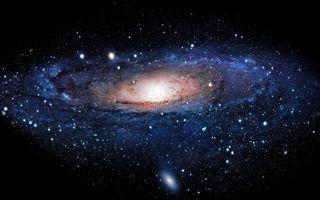 Фото бесплатно через звезды, млечный путь, скопление звезд