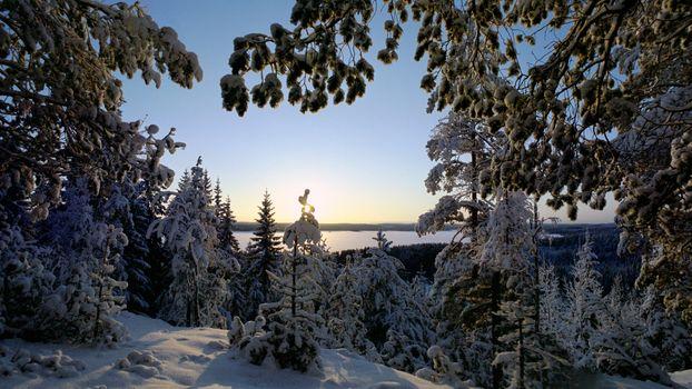 Заставки winter, Talvinen Karijarvi, Finland