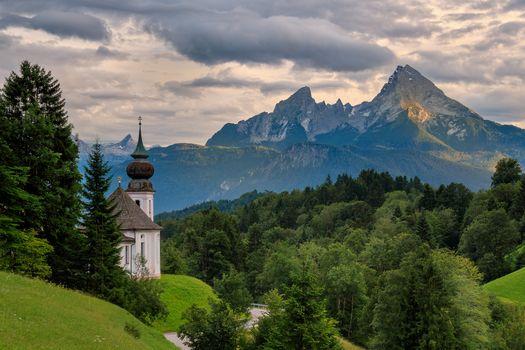 Заставки Bavaria, Церковь паломничества Мария Герн, Бавария
