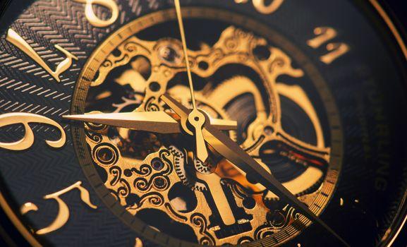 Photo free clock, mech, time