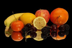 Бесплатные фото фрукты,еда,банан,яблоко,апельсин,ежевика,ягоды
