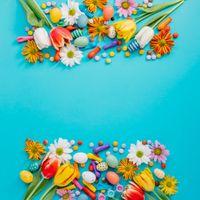 Фото бесплатно Истинно воскресший, Пасха, пасхальные яйца