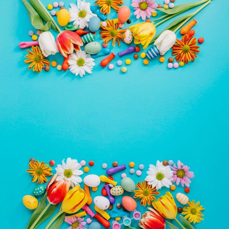 Фото бесплатно Истинно воскресший, Пасха, пасхальные яйца - на рабочий стол
