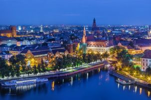 Фото бесплатно Вроцлав, Польша, город