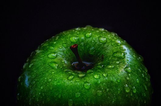 Photo free Apple, macro, drops