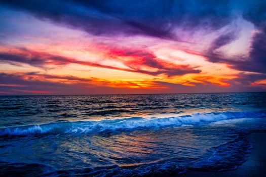 Фото бесплатно Атлантический океан, залив, закат