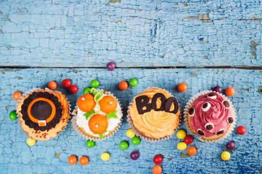Scary cupcakes · free photo