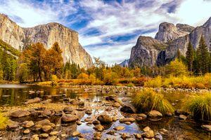 Бесплатные фото Yosemite National Park,California,Национальный парк Йосемити,Калифорния,осень,пейзаж
