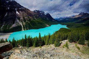 Фото бесплатно Peyto Lake, природа, небо