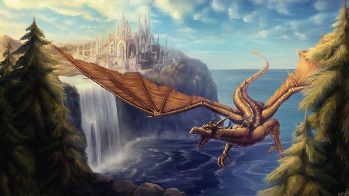 Фото бесплатно Художник, Художественное произведение, Дракон - на рабочий стол