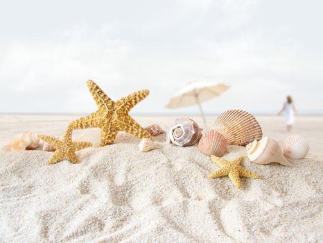 Заставки пляж, глубина, поле