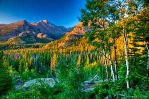 Photo free Rocky Mountain National Park, autumn, mountains