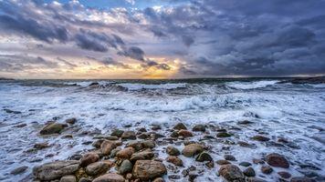 Заставки волны, пейзаж, побережье