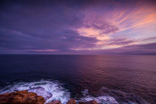 Фото бесплатно утро, пляж, горизонт