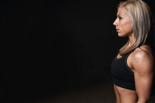 Фото бесплатно бодибилдинг, мышцы, женщина