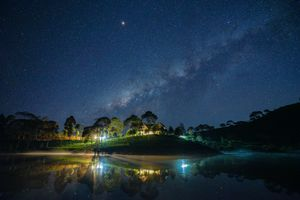 Фото бесплатно Nightscape, звезды, ночь