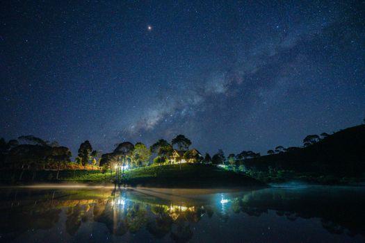 Заставки Nightscape, звезды, ночь