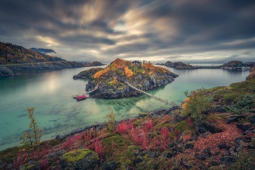 Фото бесплатно Сеня, остров, фьорд