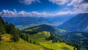 Бесплатные фото Берхтесгаден,Бавария,немецкие Альпы,Германия,горы,холмы,домики