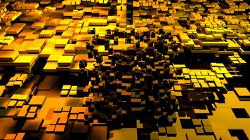 Фото бесплатно кубы, текстура из кубов, уровни
