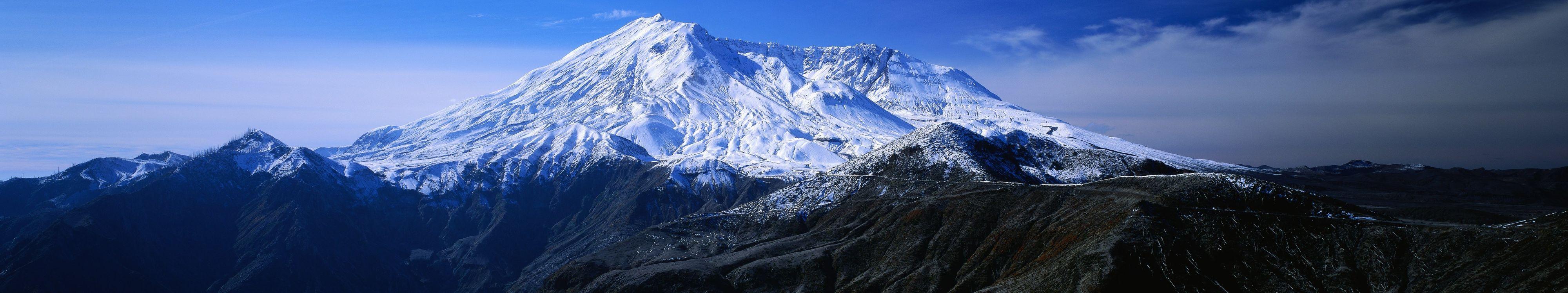 Фото бесплатно горы, простор, снег - на рабочий стол