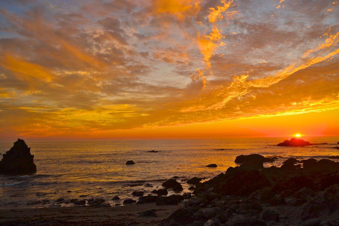 Доброго морского вечера · бесплатное фото