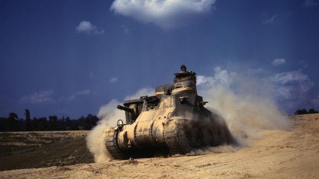 Photo free Tank, American, OK